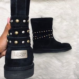 UGG Leather Studded Boots